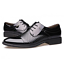 Mens-Casual-Pointed-toe-Leather-shoes-Dress-Formal-Business-Oxfords-US-6-5-9 thumbnail 2