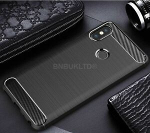 For-Xiaomi-Redmi-Note-5-Pro-Carbon-Fibre-Gel-Case-Cover-Brushed-Shockproof