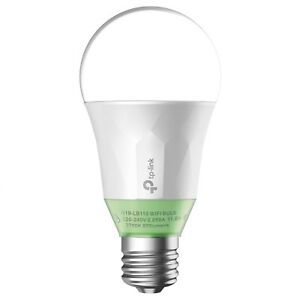 Details about TP-Link Kasa Smart Dimmable LED Light Bulb, Works w/ Alexa &  Google Asst LB110