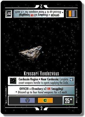 Star Trek CCG DS9 Deep Space 9 Shakaar Edon