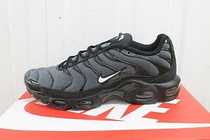 save off 50001 d3be5 Image is loading MEN-S-NIKE-AIRMAX-TN-PLUS-TXT-BLACK-