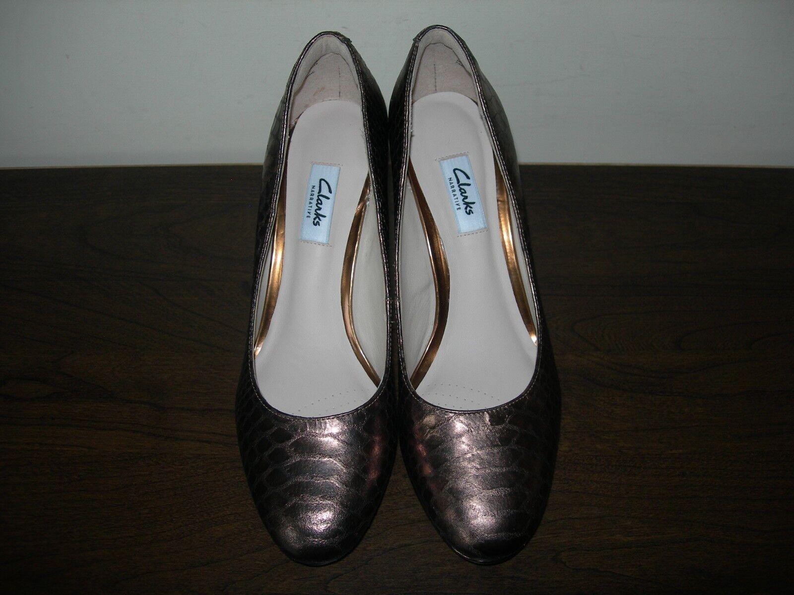 CLARKS NARRATIVE WOMEN'S COURT Schuhe BRONZE SIENNA KENDRA SIENNA BRONZE (II) EU 39 / UK 5.5 D a0ddd6