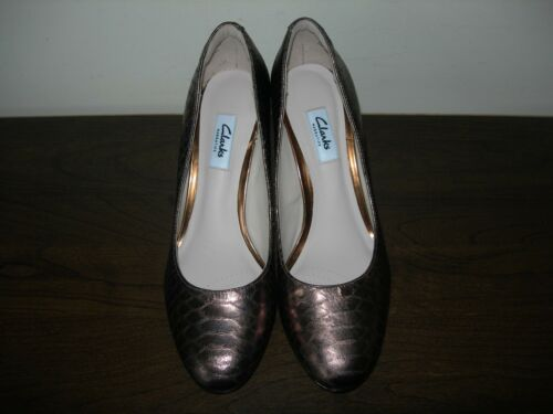 39 5 5 Eu Sienna Court Clarks Kendra Bronze Narrative Shoes D ii Uk Court 8w7wqzPxH