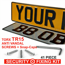 Replacement Car Number Plates Pressed Embossed MOT REG 100 GB UK Road Legal Show