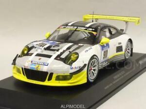 Porsche 911 Gt3-r Manthey Racing 24h Nurburgring 1:18 Minichamps 155166911