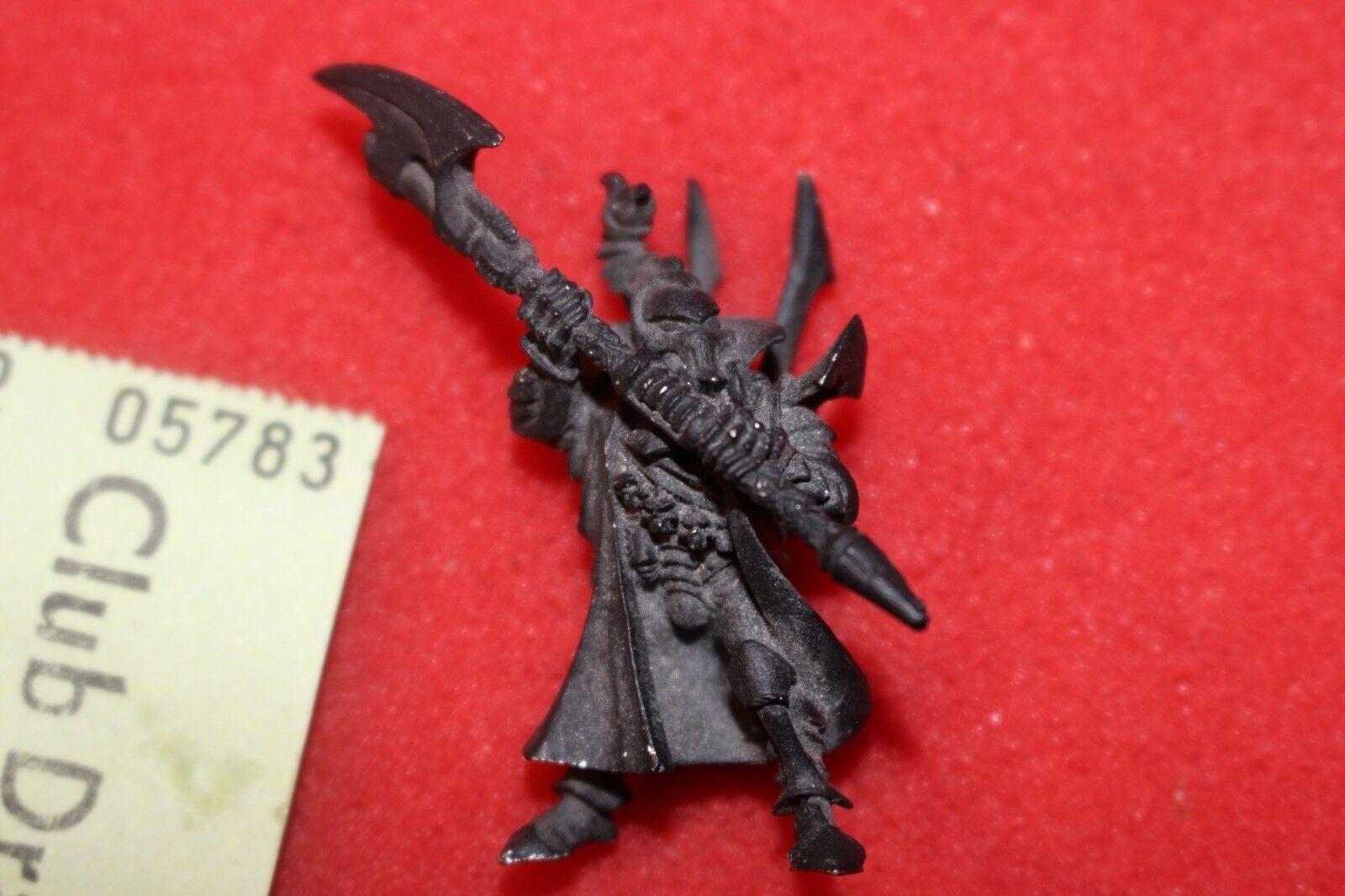 Games Workshop Warhammer 40k Dark Eldar Drukhari Asdrubael Vect Incubi OOP Metal