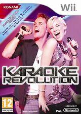 KARAOKE  REVOLUTION      -----   pour WII