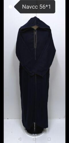 Sizes 56,/&58 Men Moroccan  winter wool hooded LONG SLEEVES  thobe//Djelleba.JUBBA