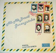 GONZAGUINHA Alo Alo Brasil Luis Gonzaga Jr Latin Jazz NM Brazil EMI 1983 LP