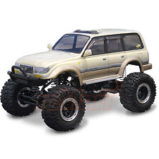 High Quality Colt Lc80 Land Cruiser Clear Body Set For Axial 1 10 RC Cars Crawler Cc01 #