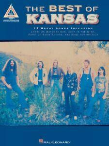 The-Best-of-Kansas-Sheet-Music-Guitar-Tablature-NEW-000690277