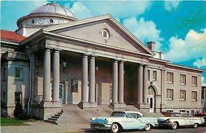 Washington-IN-gt-NICE-1950s-Cars-Westminster-Presbyterian-Church-Postcard