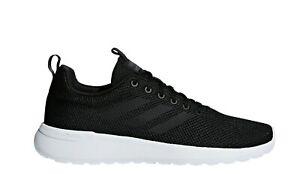 Adidas Mens Lite Racer CLN Trainers Carbon