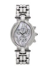 NEW Balmain Excessive 5651 Chrono Date Stainless Steel Ladies Watch Retail $795