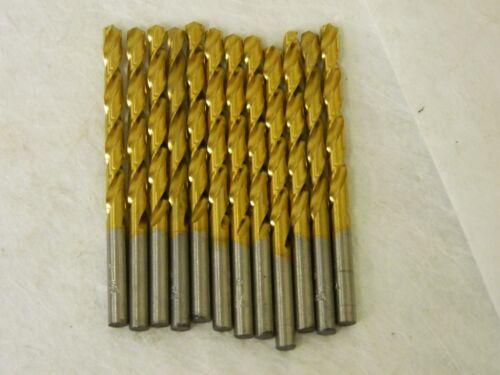 """Hertel Jobber Drill Letter G x 2-7//8/"""" 118° TiN HSS Box of 12 #84578582"""