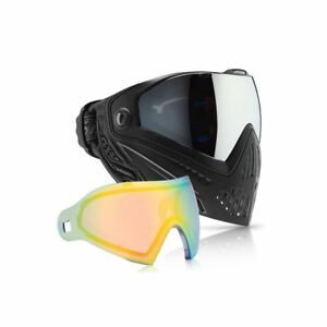 Adaptable Dye I5 Paintball Goggle Mask & Lens Package - Onyx + Northern Lights
