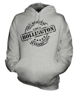 Christmas Womens Bollington Gift Ladies Hoodie In Birthday Made Mens 50th Unisex Bn4PF78Fxw