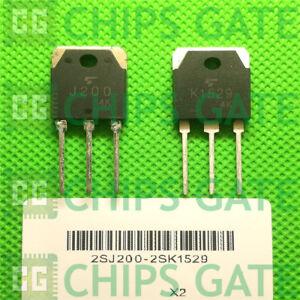 1PCS-Transistor-TOSHIBA-TO-3P-2SJ200-2SK1529-J200-K1529-100-Genuine-and-New