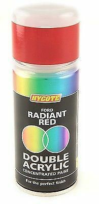 HYCOTE FORD RADIANT RED Double Acrylic Spray Paint 150ml - DFD509