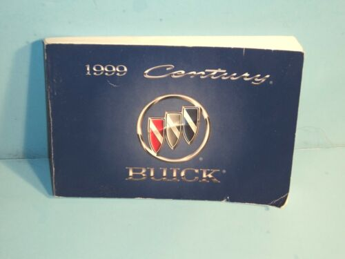 99 1999 Buick Century owners manual