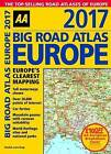 AA Big Road Atlas Europe 2017 by AA Publishing (Spiral bound, 2016)