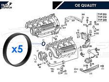 MERCEDES 2.2 2.7 CDI ML C CLASS 5 x INTAKE MANIFOLD GASKET SEAL O RING SET