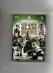 IRELAND RUGBY DVD  - IRELAND'S GRAND SLAM GLORY 2009 (3 DISC EDITION)