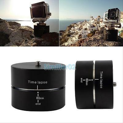 360 Degrees Panning Rotating Time Lapse Stabilizer Tripod Adapter for Gopro DSLR