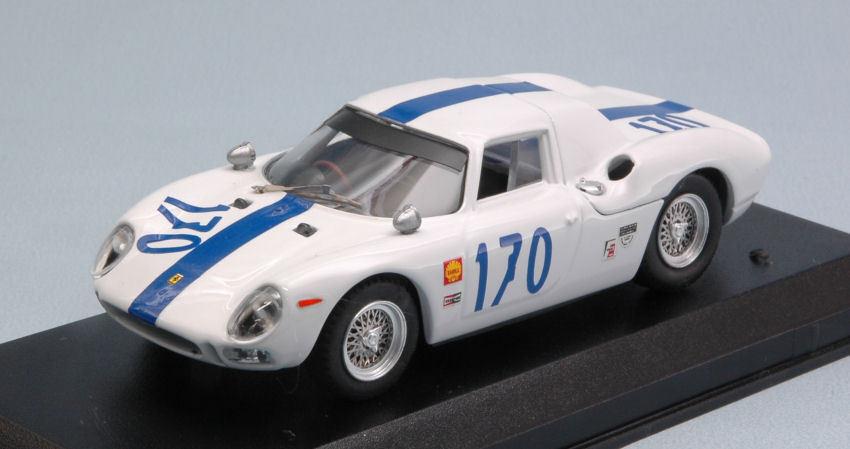 Ferrari 250 - targa florio 1966   170 unfälle (swanson   r. ennis 1 43