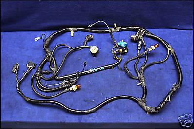 87 88 ford mustang headlight wiring harness head light lamp & alternator  5.0 | ebay  ebay