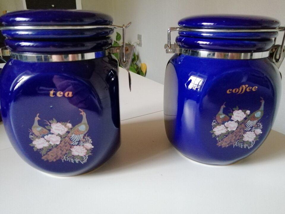 Keramik, opbevarings krukker