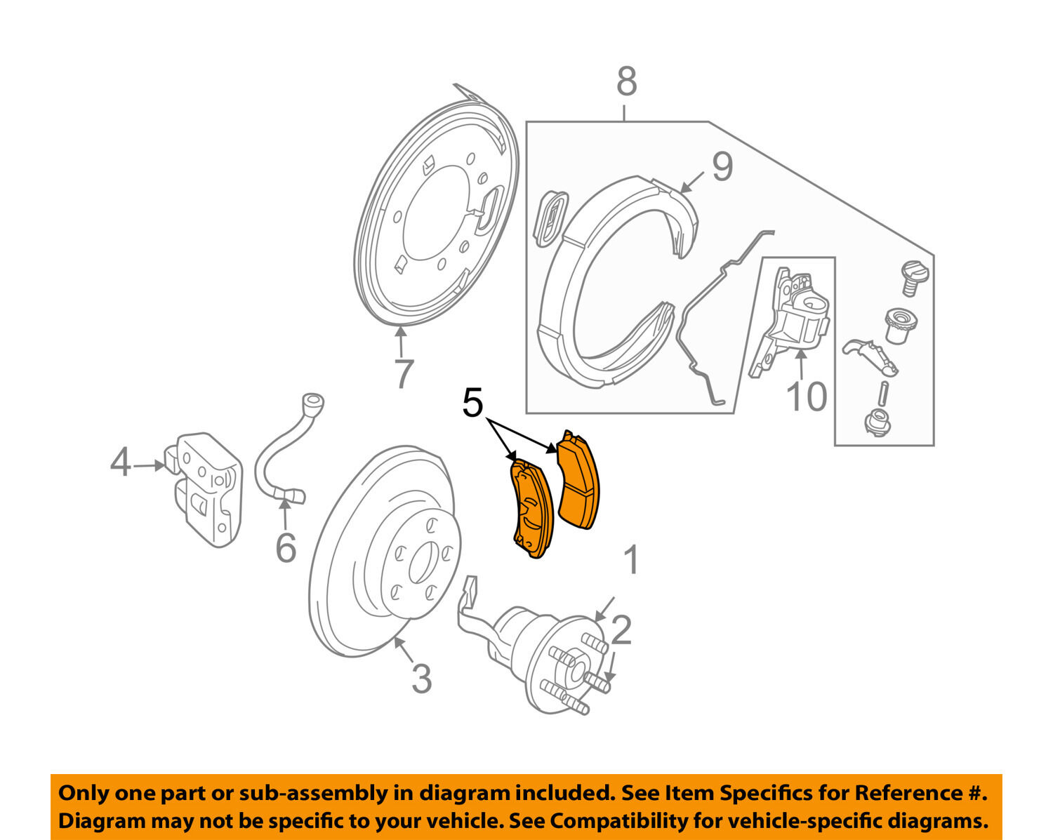 Disc Brake Pad General Motors 19259589