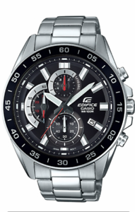 CASIO-EDIFICE-Watch-EFV-550D-1AV-Stainless-Steel-100m-Men-039-s-EFV550-With-Box