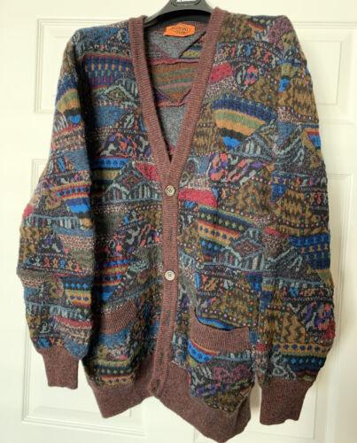 wonderful Missoni Uomo Cardigan Sweater Signature