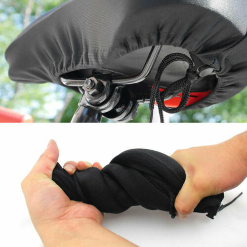Bike Bicycle Cycling Cushion Cover Soft Saddle Seat Extra Comfort Gel Pad Balck