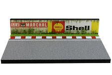 Diorama présentoir Circuit Shell / SEV Marchal - 1/43ème - #43-2-Q-N-001