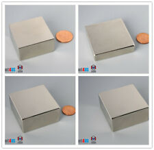 Multiple Thickness 38mm 1 12 Width Rare Earth Neodymium Block Square Magnets
