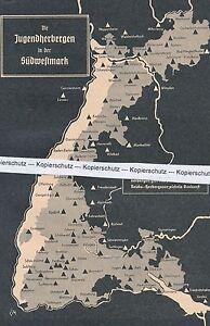 Baden - Jugendherbergen im Schwarzwald - Südwestmark - um 1935 - selten  N 12-20
