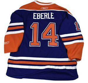 new styles d06fc b57a4 Details about Reebok NHL Edmonton Oilers Jordan Eberle Youth Premier Hockey  Jersey NWT L/XL