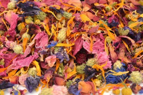 Mariage Confettis Pétales naturel Biodégradable Confettis Summer 1 L Fleurs séchées