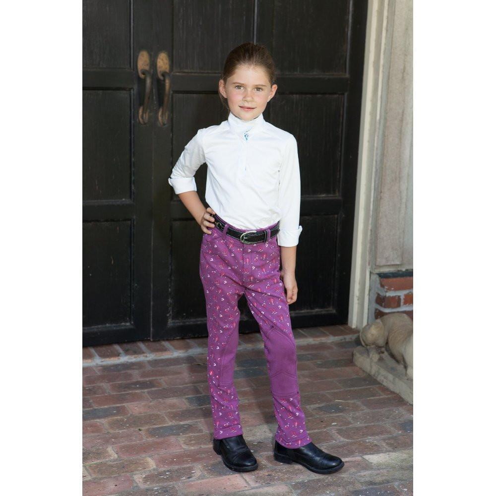 Daisy lila Clipper Children's lila Daisy Riding pants b6c3ff