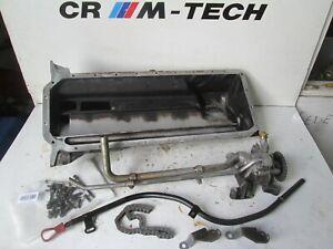 BMW-E46-M3-S54-Motor-Carter-De-Aceite-Pan-bomba-de-aceite-tubo-sumergido-palo-Pernos-se-adapta-a-328