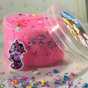 Cloud-SLIME-034-FLUFF-FELINE-034-Pink-Cat-Charm-Sprinkles-Dots-SCENTED-Snow-4-6-8-12