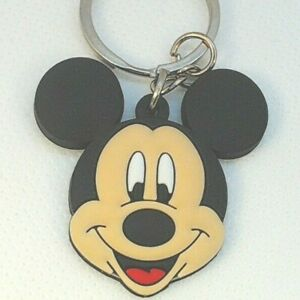 1-5-034-Mickey-Mouse-Disney-Channel-Clubhouse-PVC-Keychain-Lot-USA