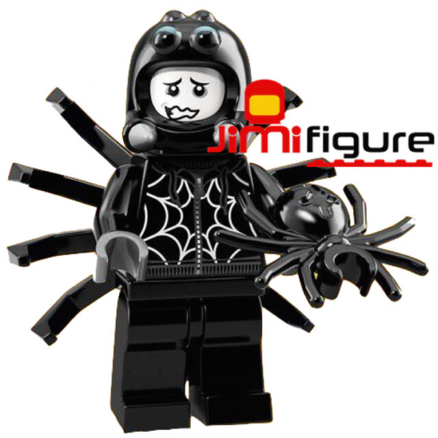 NEW LEGO Minifigures Spider Suit Boy Series 18 71021 Party Genuine Sealed Figure