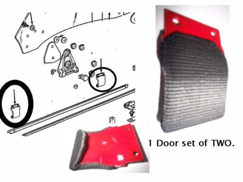 1968-69 Camaro  door glass Guide  Set for one door