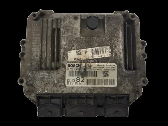 Controlador PSA 0281010707 9647785580 Bosch 20445