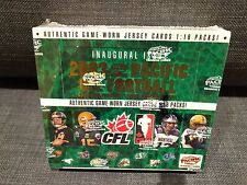 2003 Pacific CFL Football Trading Cards HOBBY BOX jersey parallel hits FREE SHIP