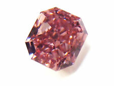 0.11ct Natural Loose Fancy Intense Pink Color Diamond GIA Certified Radiant SI2
