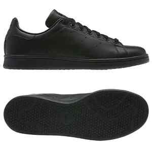 Adidas-Originaux-Stan-Smith-Noir-Baskets-Tailles-7-10-Baskets-Decontracte